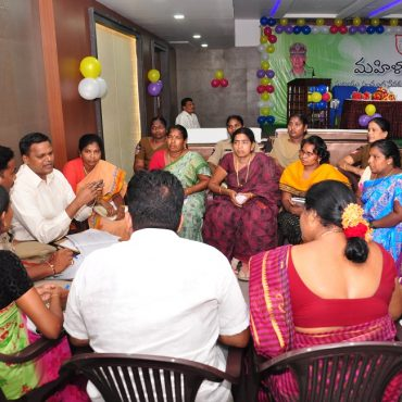 Mahila Mitra Awareness and Introduction Programme with Coordinators and Volunteers in Vijayawada on 05.05.2017