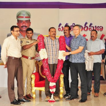 Hearty Send-off felicitation to Sri G.Ramakoteswara Rao, Addl.DCP (Crimes) Vijayawada City on the occation of his retirement on 01.07.2017