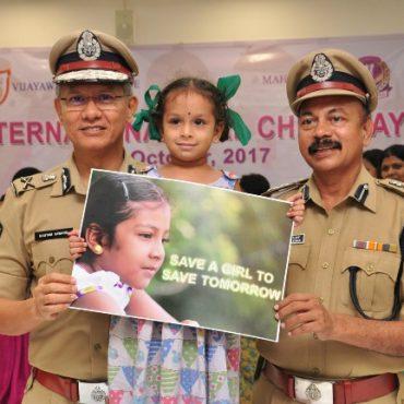 INTERNATIONAL GIRLS CHILD DAY ON - 11-10-2017