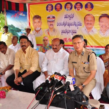 Inauguration of new constructed roads and drainages in police quarters on 24-04-2017 - 2