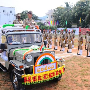 Sri D. Gautam Sawang, IPS, Commissioner of Police participating in Independence Day Celebrations on 15.08.2017 at CAR Grounds in Vijayawada - 2
