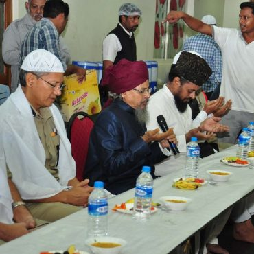 Sri D. Gautam Sawang, IPS, Commissioner of Police participating in Iftar party in vijayawada on 22.06.2017