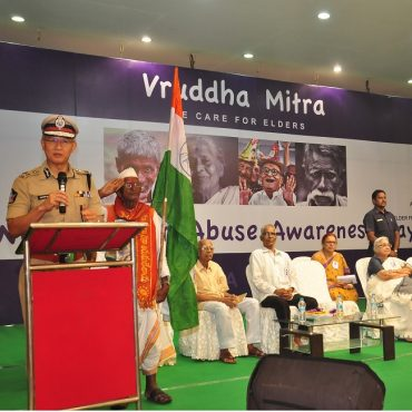 Vruddha Mitra programme conducted in Vijayawada on 14.06.2017 as part of World Elder Abuse Awareness Day (15.06.2017)