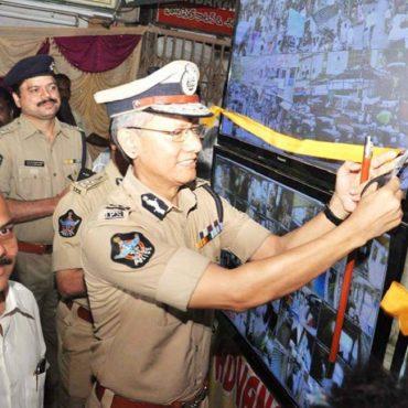 CC Cameras Inauguration at Kaleswara Rao Market