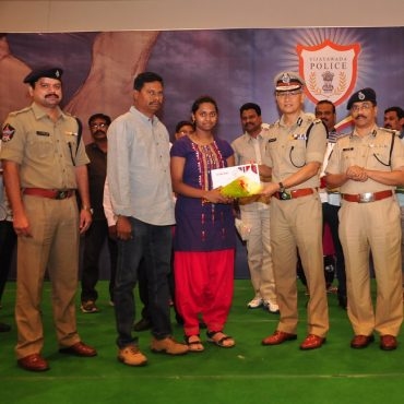 Merit Scholarships given to Children of Police staff