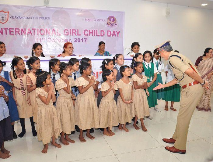 INTERNATIONAL GIRLS CHILD DAY ON - 11-10-2017 2