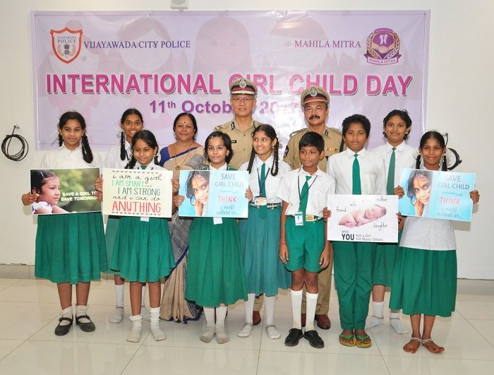 INTERNATIONAL GIRLS CHILD DAY ON - 11-10-2017 3