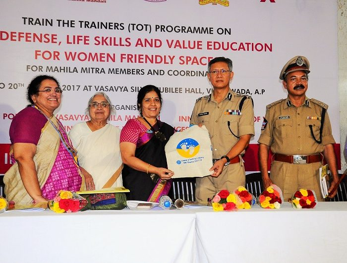 TOT Programme on Self Defense, Life Skills and Value Education for Women Friendly Spaces on 16.08.2017