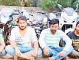 ద్విచక్రవాహనాలు దొంగిలించిన ఏడుగురు అరెస్ట్