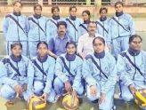 అంతర్ వర్సిటీ వాలీబాల్ పోటీలకు కృష్ణా వర్సిటీ జట్టు