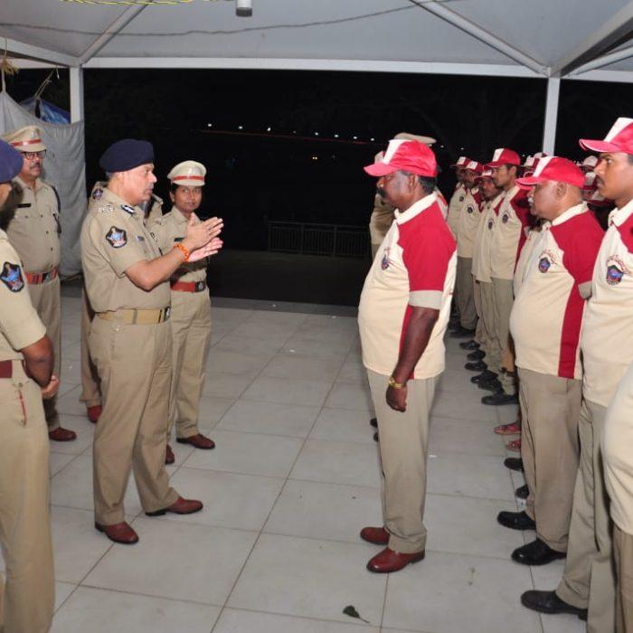 Bhavani Sevadal has been formed by Sri Ch. Dwaraka Tirumala Rao, IPS, Commissioner of Police