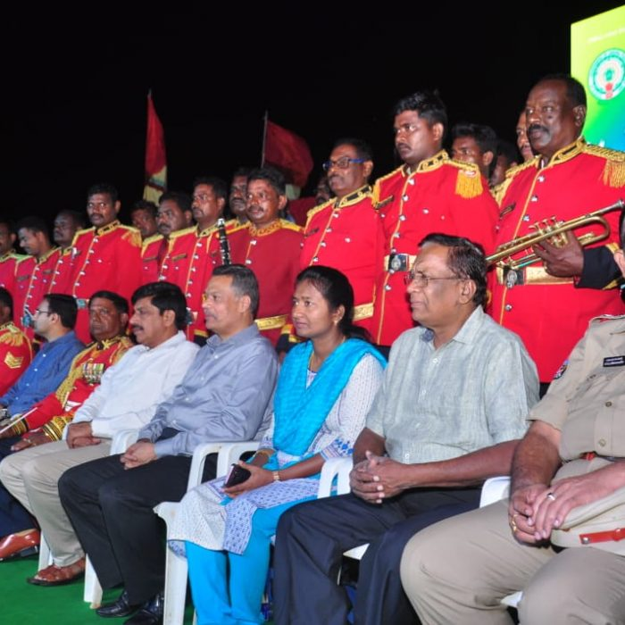 POLICE COMMEMORATION DAY CELEBRATION TODAY POLICE BAND PROGRAMME (7)