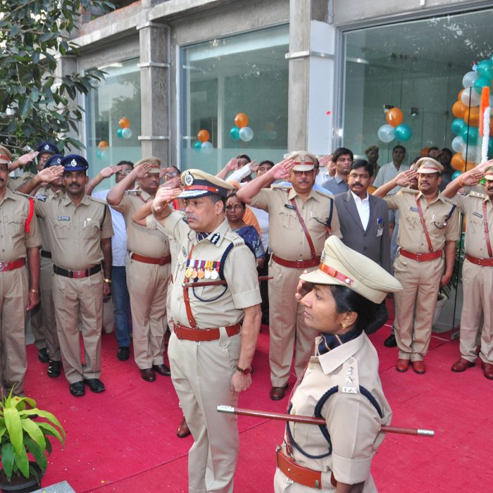 Republic Day Celebrations at CPs Office (1)