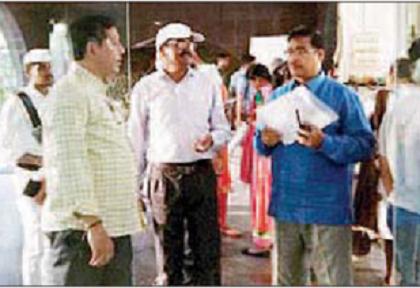 స్ట్రాంగ్ రూమ్ లకు పటిష్ట భద్రత