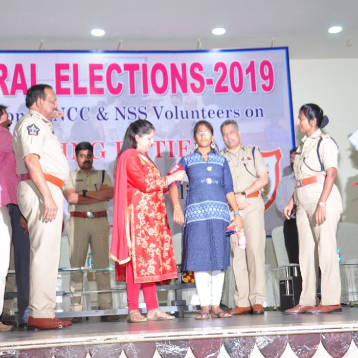 GENERAL ELECTIONS-2019 - NSS AND NCC STUDENT AWARENESS PROGRAM 1