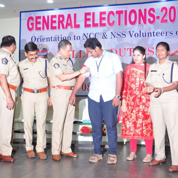 GENERAL ELECTIONS-2019 - NSS AND NCC STUDENT AWARENESS PROGRAM 2