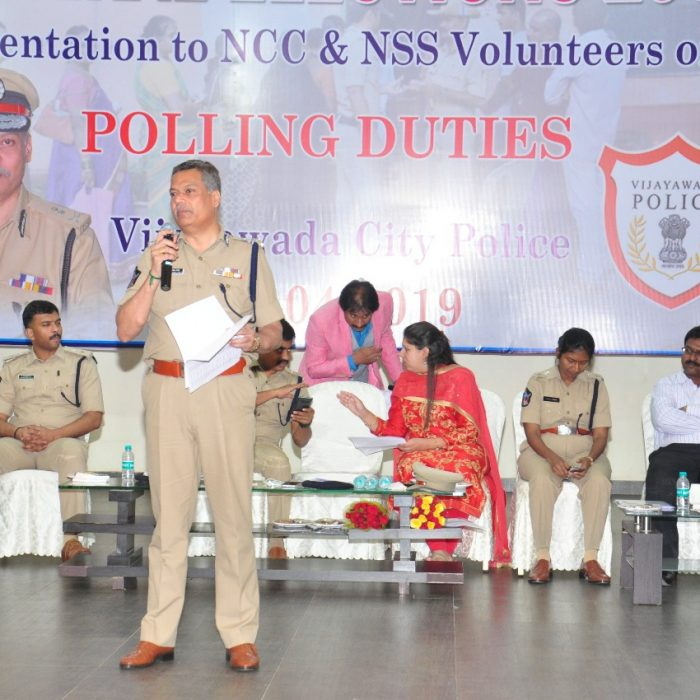 GENERAL ELECTIONS-2019 - NSS AND NCC STUDENT AWARENESS PROGRAM 3