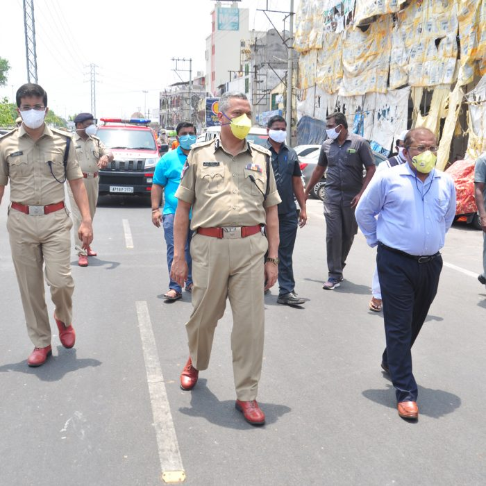 VEHICLE MARCH ALONG WITH INTERCEPTOR AND SDRF STAFF TO CREATE AWARENESS