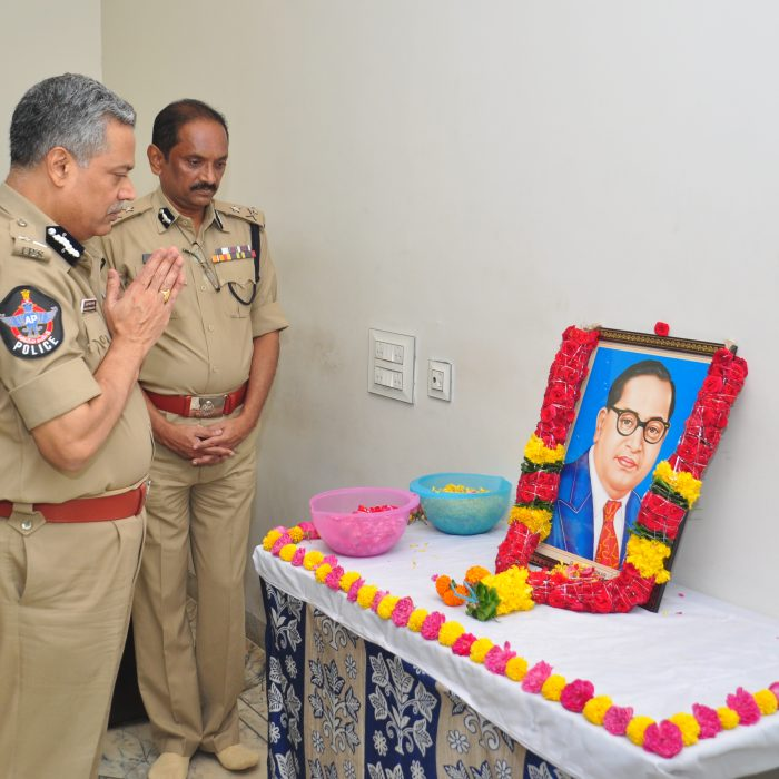 DR.B.R. AMBEDKAR, 129TH BIRTHDAY CELEBRATIONS IN CP OFFICE 2