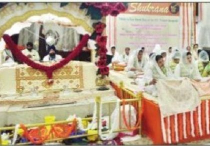 48 గంటల పాటు నిర్విరామంగా గురు గ్రంథ్ పఠనం
