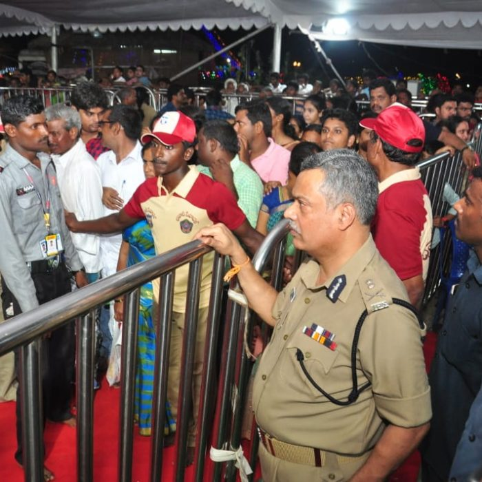 BHAVANI SEVADAL SERVICES AT INDRAKEELADRI HILL