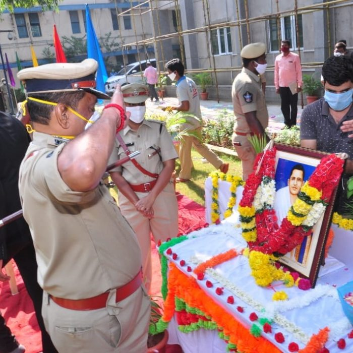 AP FORMATION DAY CELEBRATIONS AT CP OFFICE