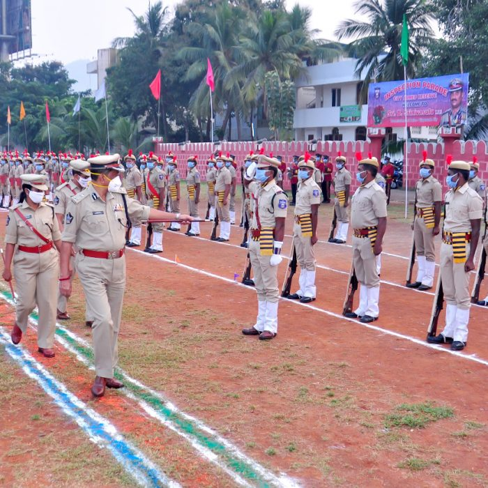 CP SIR, CONDUCTED INSPECTION PARADE (1)