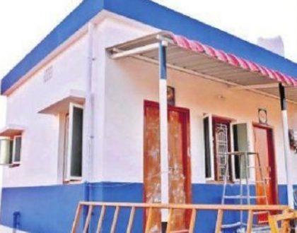 'ఇళ్ల పట్టా'భి షేకం