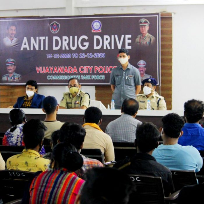 CP SIR, CONDUCTED STUDENTS AND PARENTS ANT DRUGS AWARENESS MEETING ON 22.12.2020