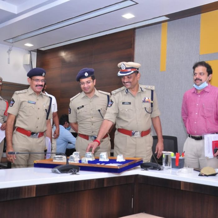 DURGA TEMPLE 3-SILVER LION IDOLS THEFT OFFENDER ARRESTED - 23.01.2021