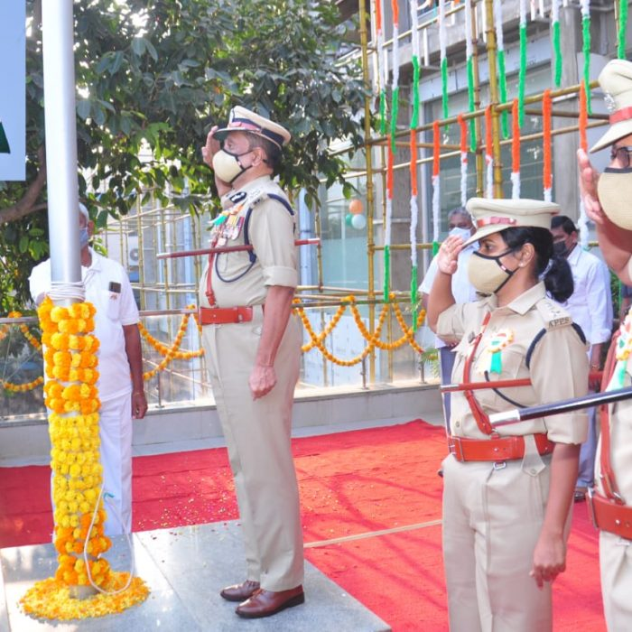 REPUBLIC DAY CELEBRATIONS IN CP OFFICE ON 26.01.2021